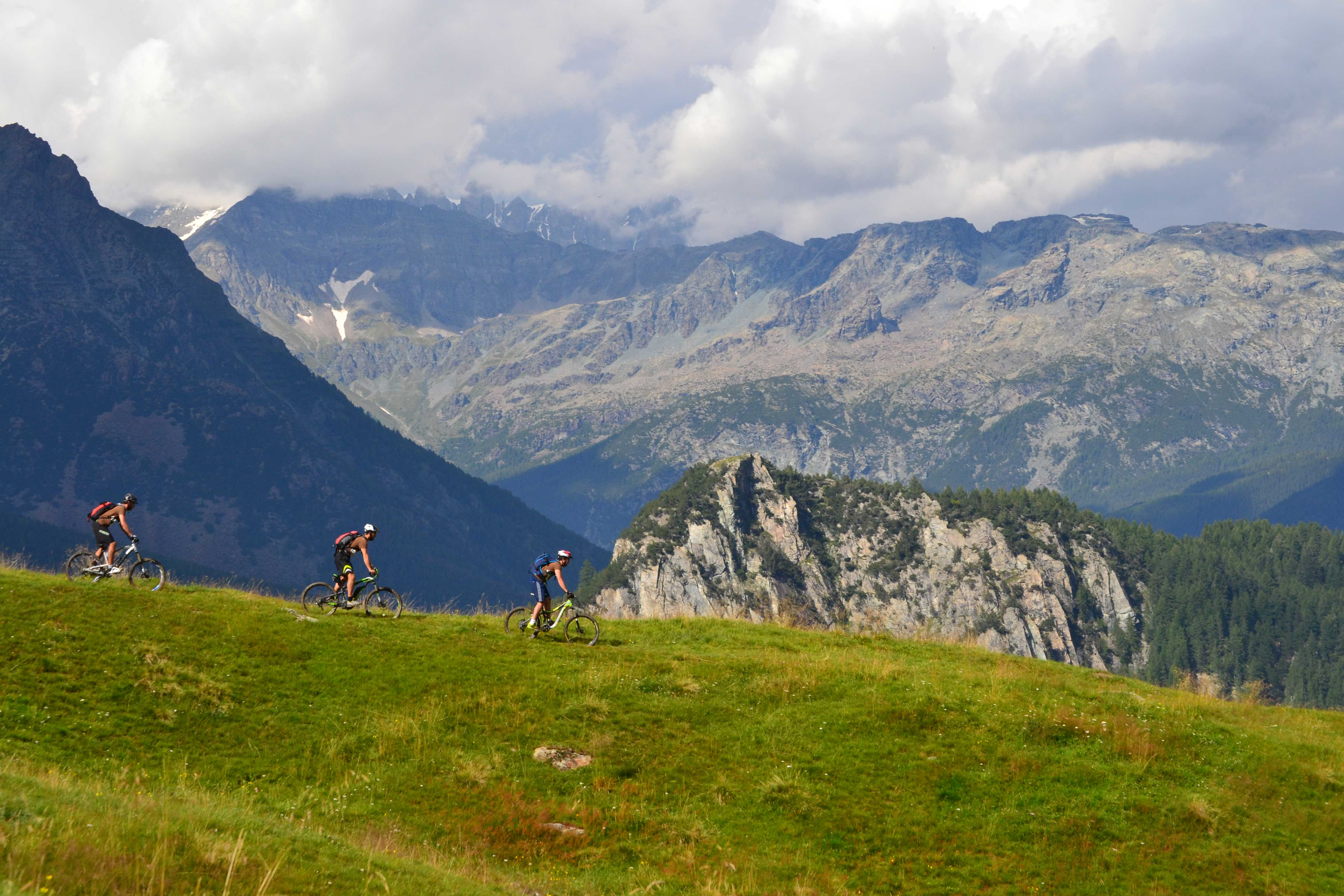 mountain bike valmalenco bikebernina